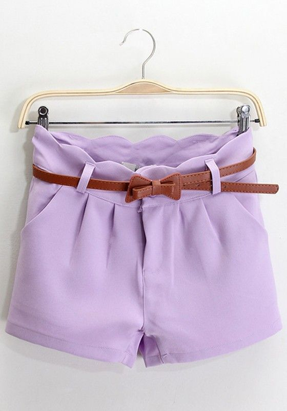 heetheadz.com purple high waisted shorts (13) #highwaistedshorts ...