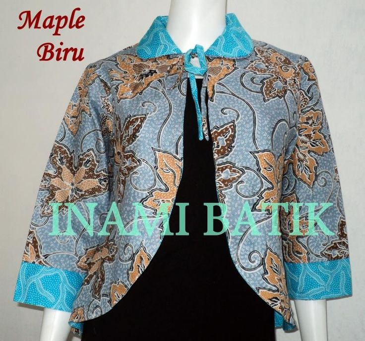 Blazer Batik Wanita Panjang Modis: Blazer Batik Wanita Panjang Modis      Kode : BB ...