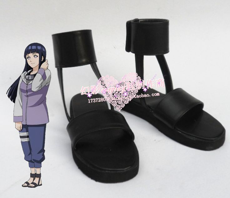 Ucuz Naruto Hyuuga Hinata Cosplay Ayakkabı Çizme Ismarlama, Satın Kalite…