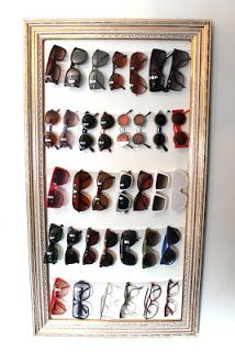 Como organizar nuestras gafas de sol para tenerlas a mano ~ Olvídate de la crisis