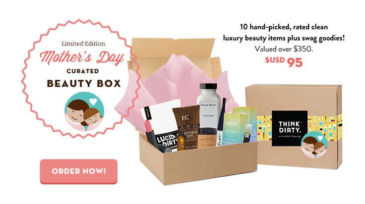 Shop clean personal care products with a little help of us. Learn more about Think Dirty App.