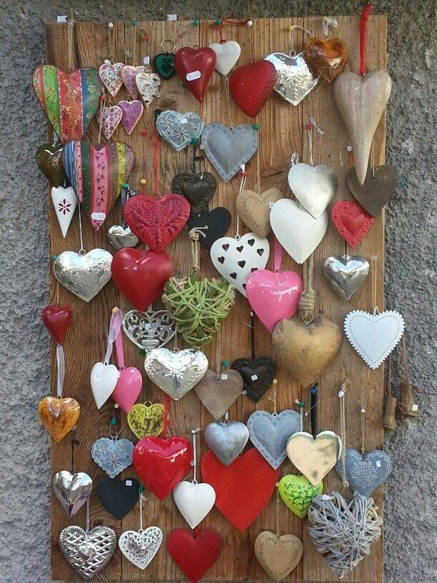 Hearts inspiration for valentine's day gift or decorations makes, find more by following Karen Hauler-Davies