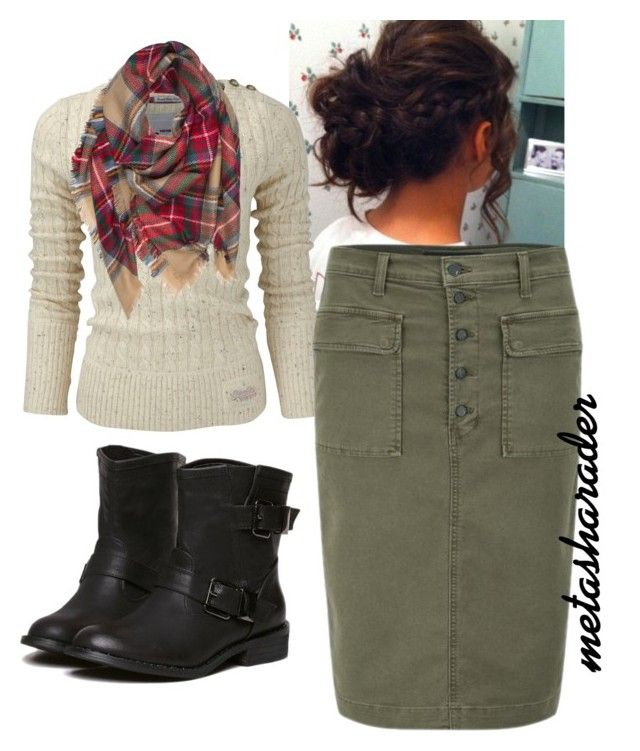 """Fall"" by metasharader ❤ liked on Polyvore featuring Superdry, J Brand, Fall, casual, Modest and pentecostal"