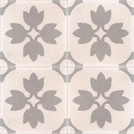Collection StoneWash - décors 4 carreaux - Carreau TREFFLE SW 07.27 - Couleurs & Matières