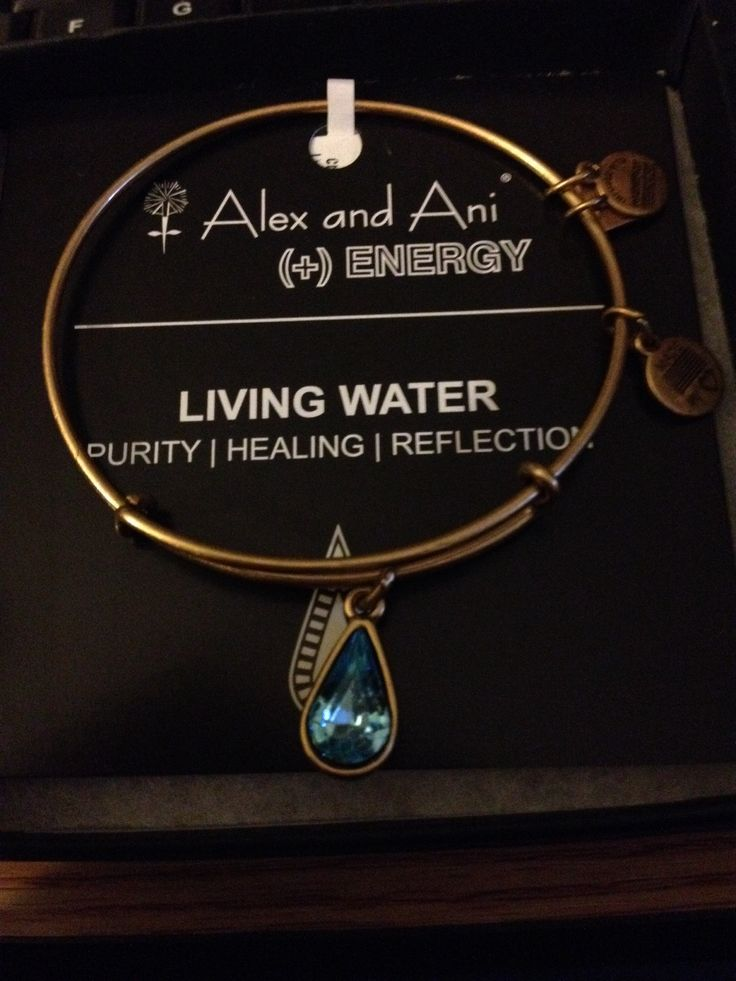 Living Water Alex and Ani bracelet