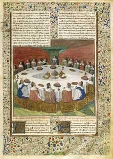 BnF - The Legend of King Arthur oh and the heresy of a round table