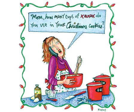 Laughing Through the Snow: Funny Christmas Cartoons ... Reader's Digest