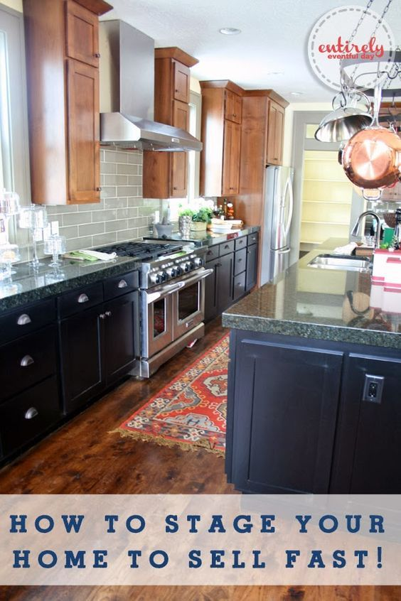 Thinking about putting your house on the market? Check out these home staging tips to sell your home faster. Via Entirely Eventful Day