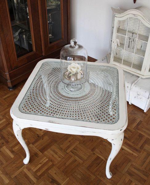 Chippendale Tisch,*Vintage*-ShabbyChic von Ilonetta auf DaWanda.com