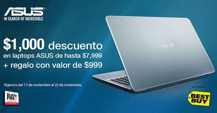 Ofertas en laptops y All In One ASUS en El Buen Fin 2016 - https://webadictos.com/2016/11/17/ofertas-laptops-asus-buen-fin-2016/?utm_source=PN&utm_medium=Pinterest&utm_campaign=PN%2Bposts