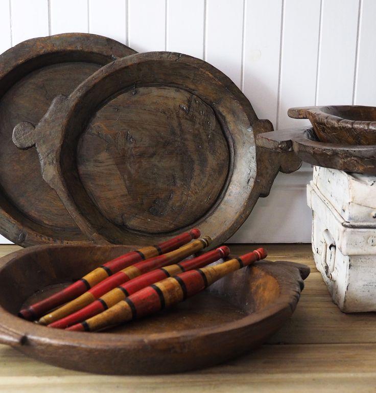 Parat wooden bowls