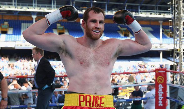 David Price aiming to claim world title shot with win on Chris Eubank Jnr undercard