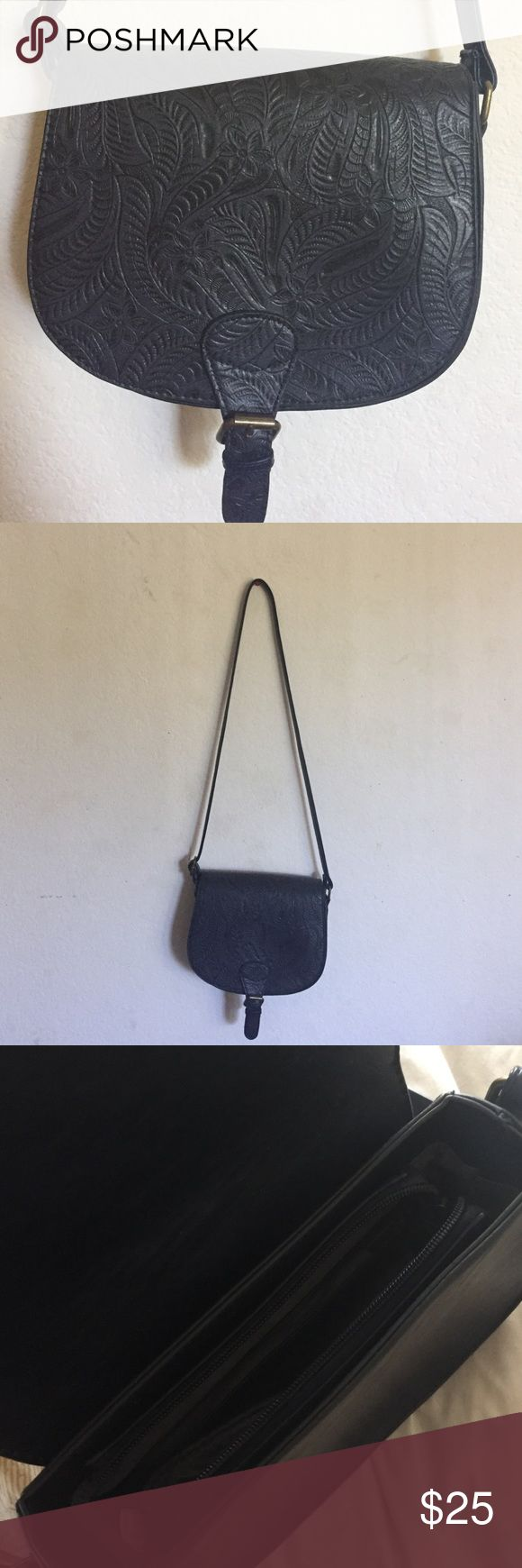 Vegan Free People purse Vegan Purse by Free People. Brand new without tags. Navy blue. Free People Bags Satchels