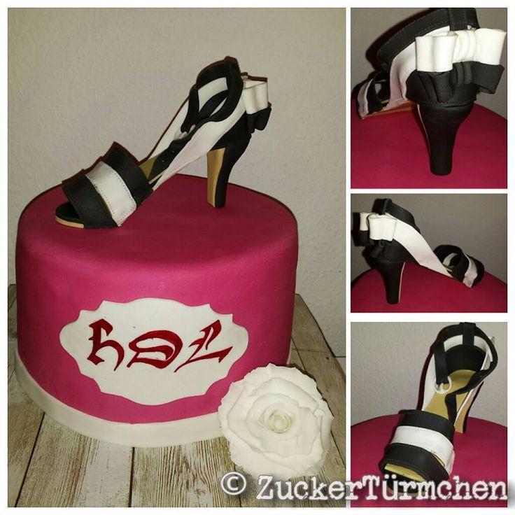 cake high heel shoe Motivtorte Schuh