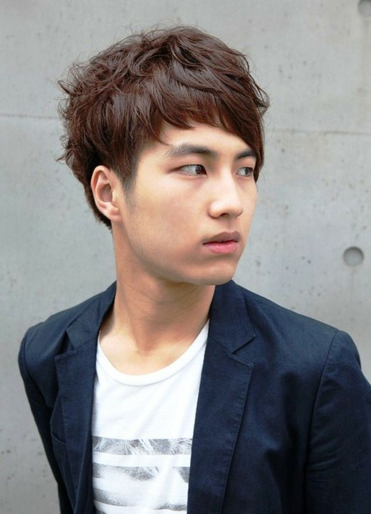 Korean Short Hairstyles For Men