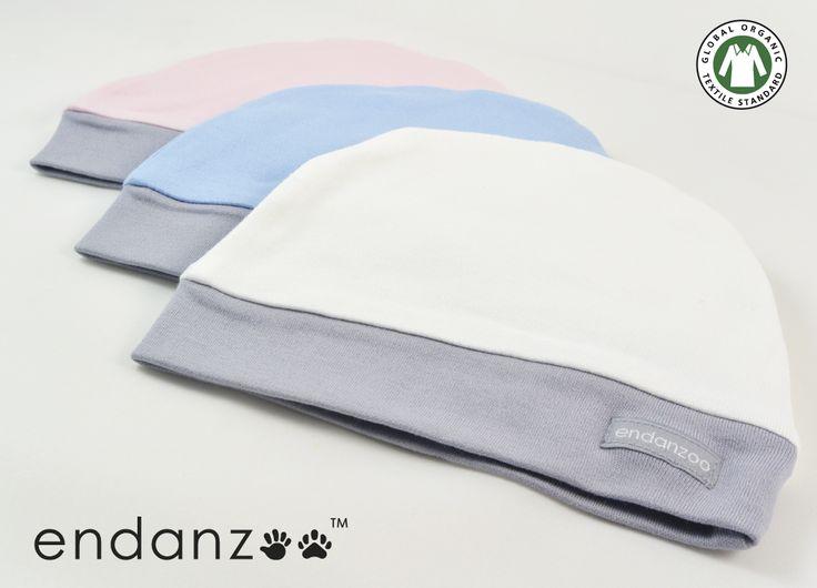 Endanzoo Organic Beanie. Made from 100% GOTS certified organic cotton. 10% Net Profits Donated!