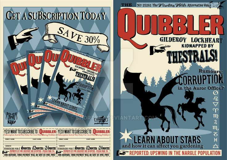 after making a few adjustments  here is the quibbler