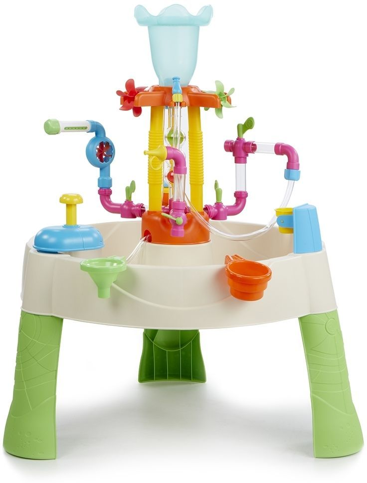 Little Tikes Fountain Factory Water Table - Toy Garden Kids Pump Plumbing Pipes 50743642296 | eBay