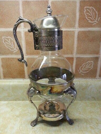 Antique coffee pot.