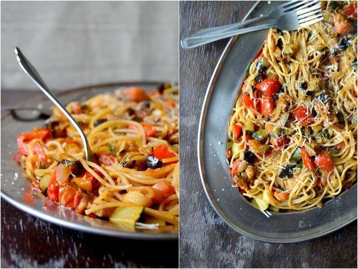 S vášní pro jídlo: Špagety ratatouille