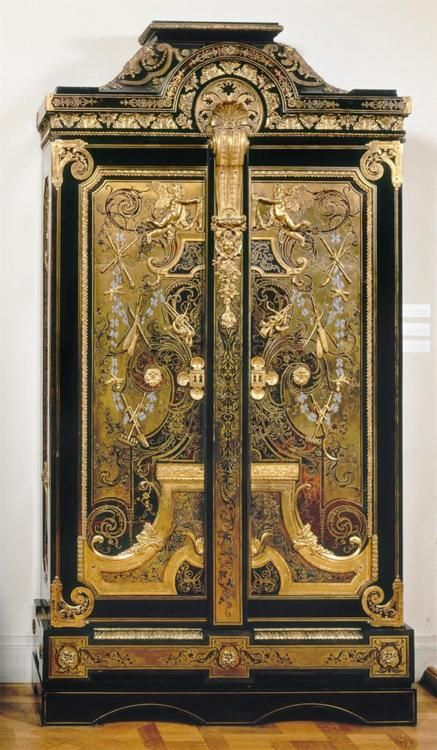 Andre-Charles Boulle armoire, circa 1710