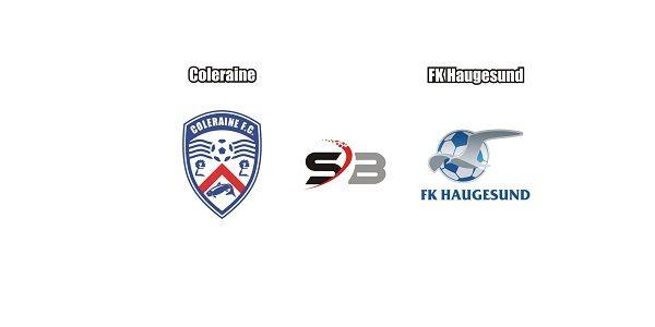 Prediksi bola Coleraine vs FK Haugesunddalam lanjutan kualifikasi babak playoff liga eropa di Stadion The Showgrounds, Coleraine. dimana pertemuan kedua klub berbeda dan pertandingan akan berlangsung semakin panas dan ketat di putaran kedua.    Dipertandingan nanti malam sang tuan rumah Coleraineakan menjamu tamu nya FK Haugesund di leg kedua. Bermain di depan pendukung nya sendiri, Coleraine harus