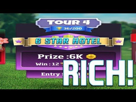 Golf Clash Gameplay - Clashing 6 Star Hotel 1 - Bug6d GOLF CLASH GAMEPLAY - CLASHING IN A 6 STAR HOTEL  GETTING RICH  Golf Clash by Playdemic PEGI 3 Its time to play the real time multiplayer game everybodys talking about! The sun is shining its time to play the real-time multiplayer game everybodys talking about!  Play on beautiful courses against players around the world in real-time as you compete in tournaments 1v1 games and challenge your Facebook friends!  Upgrade your clubs and unlock…