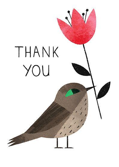 Thank you - Ella Bailey Illustration