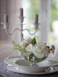 This is a cute idea...flowers in the bowl