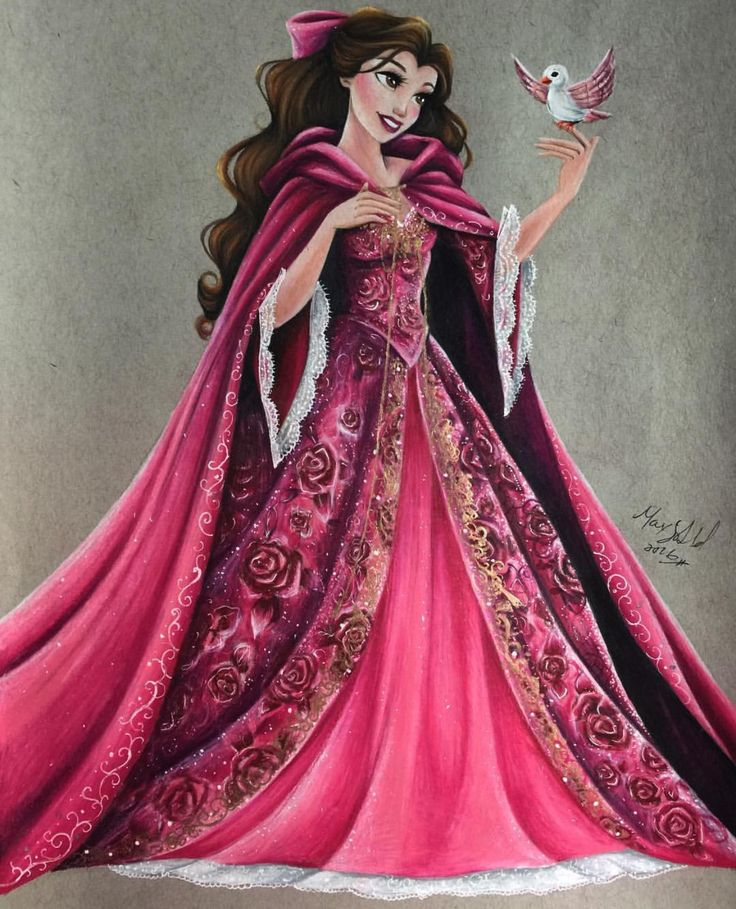 Belle #DisneyCouture by @maxxstephen  Be Inspirational❥ Mz. Manerz: Being well dressed is a beautiful form of confidence, happiness & politeness