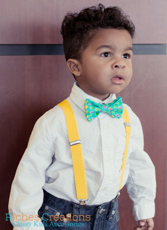 Baby Boy Easter Outfits Aqua-Mint BowTies for by RichesCreations