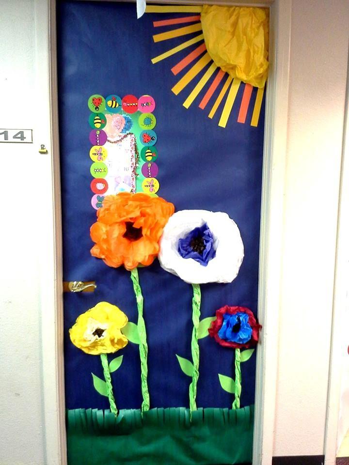 Spring Classroom Door. | Classroom door ideas | Pinterest