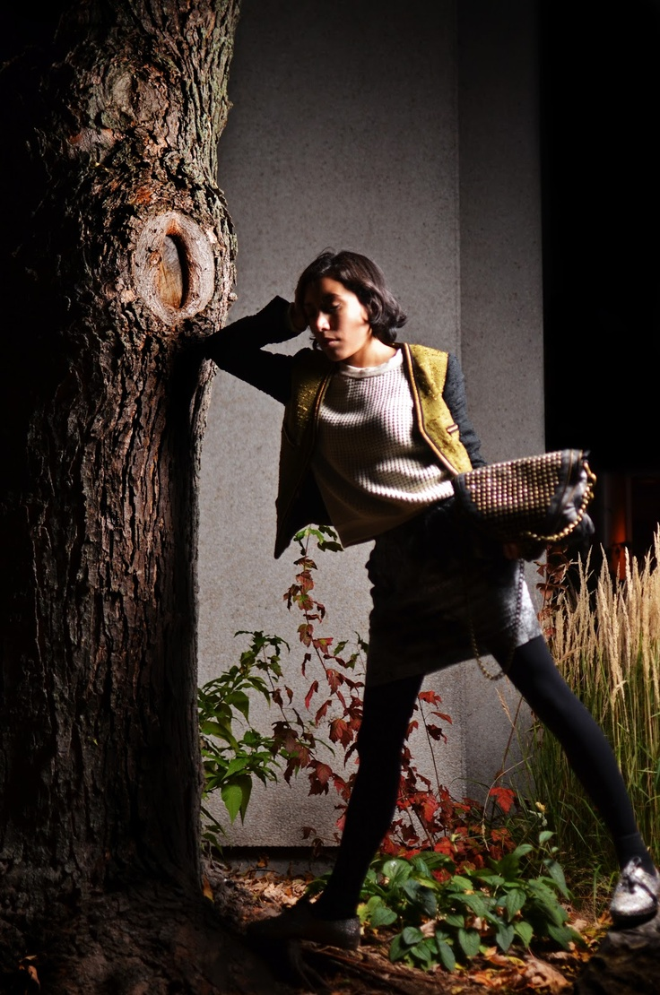 fashionaccro: Look of the day: Night Fall