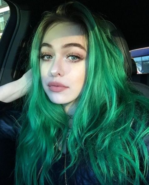 Yanno If You Can Pull Off Green Hair You Re A Star Hair