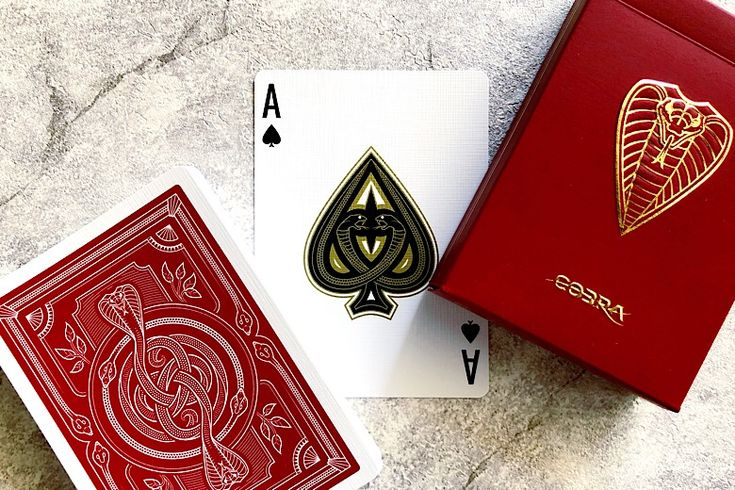 Contest: Win a Brick of COBRA Playing Cards by JP Games for You AND Your Friend!