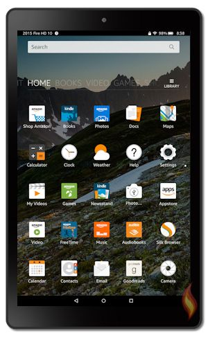 A fan site all about Amazon Kindle Fire tablets!