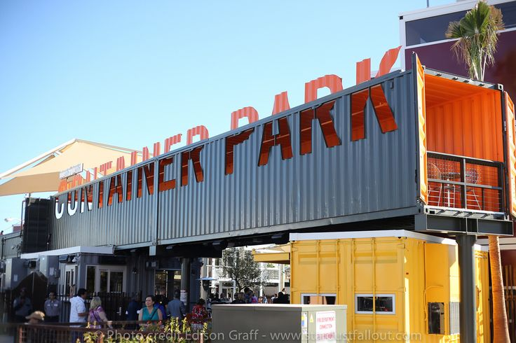 14 best images about downtown las vegas on pinterest parks vintage neon signs and chocolate - Container homes las vegas ...