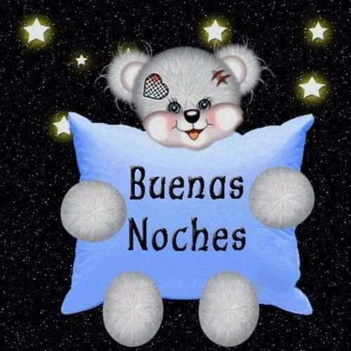 Buenas Noches y Dulces Sueños.