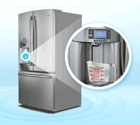 The GE Profile Refrigerator Has A Smart Water Dispenser. Water DispenserKitchen  AppliancesRefrigeratorFactors