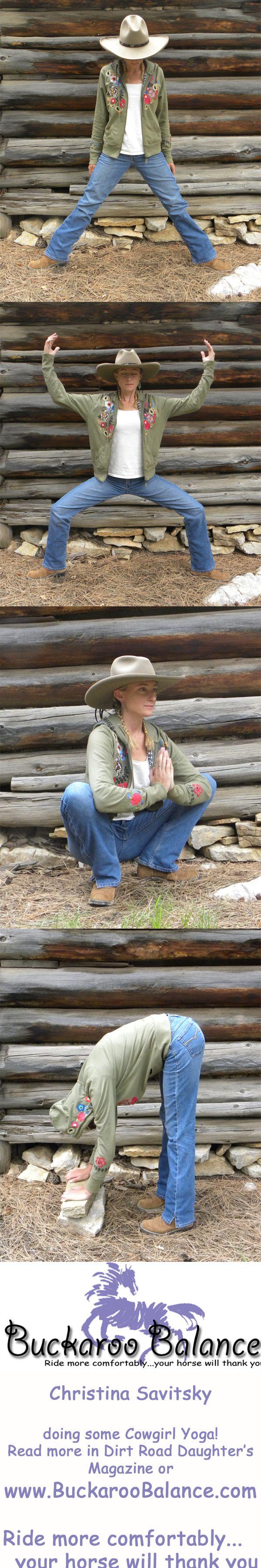 Buckaroo Balance Cowgirl Yoga Retreat