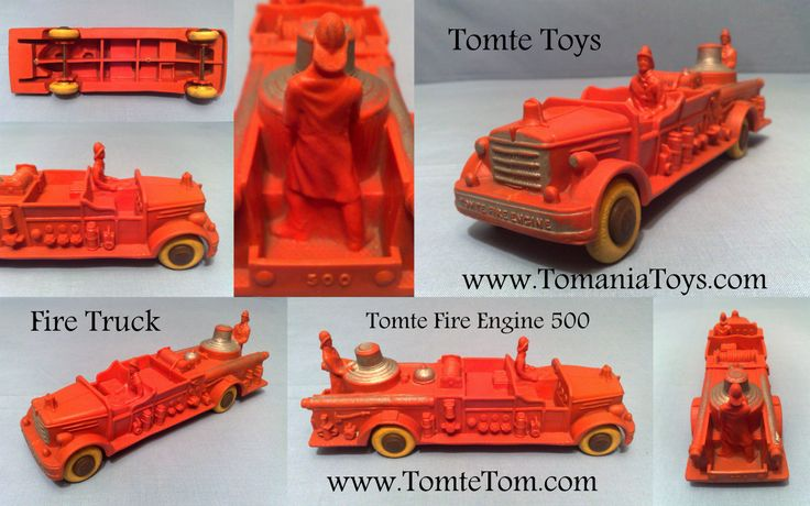 Tomte Big Fire Engine