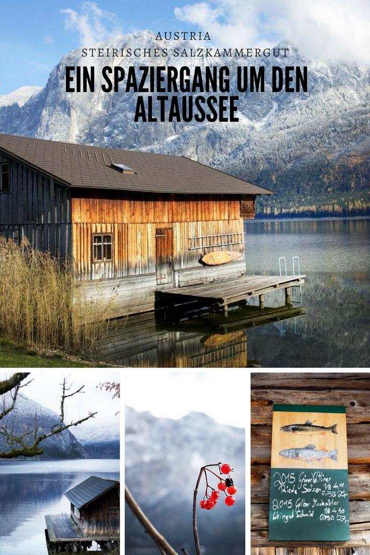 Ein Spaziergang um den Altaussee ist ein Vergnügen für die ganze Familie. Eine einfach Wanderung für jede Jahrszeit mit wunderschönen Ausblicken.