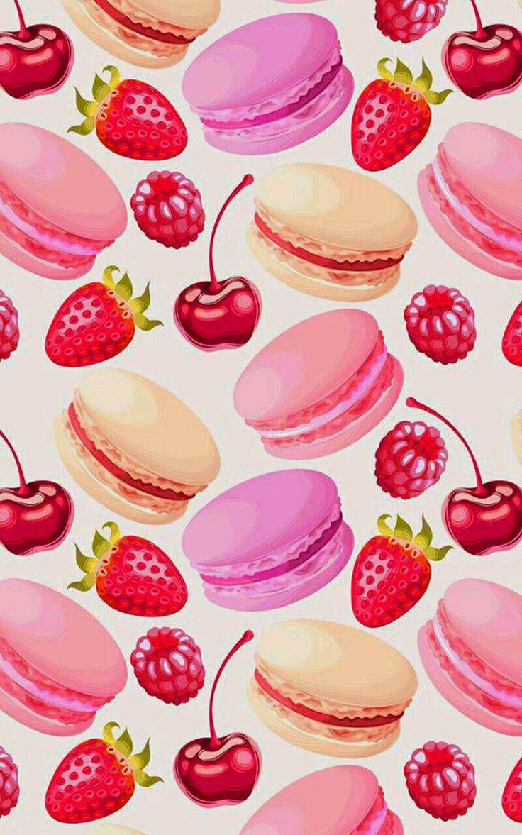 walpaper fuit cute Wallpaper iphone, Buah, Seni