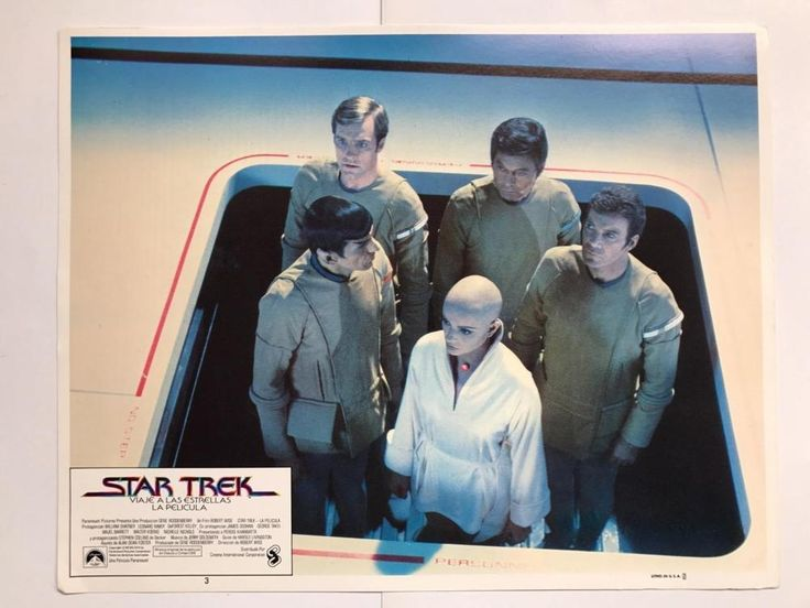 Leonard Nimoy William Shatner Star Trek: The Motion Picture 1979 lobby card 094
