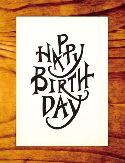 "Curioos.com | ""Happy Birthday"" by Myoung Chung (Korea, Republic of) - http://pinterest.com/curioos"