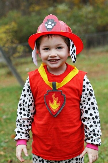 Marshall from Paw Patrol Halloween costume