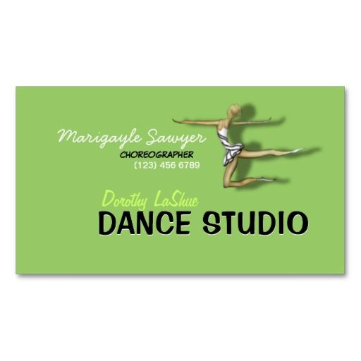 224 best choreographer business cards images on pinterest business dance studio choreographer dancer business card colourmoves