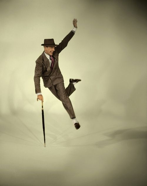 Fred Astaire - I love watching him dance!
