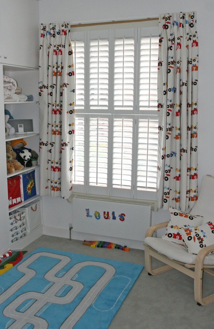 Decorating theme bedrooms maries manor window treatments curtains - Children S Bedroom Racing Car Curtains Sandberg Tapet Made By Moghul With Blackout Lining Childs Bedroomwindow Treatmentsracingkids Roomscurtainsroom