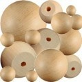Round Wooden Balls and Wood Split Ball  https://www.craftparts.com/